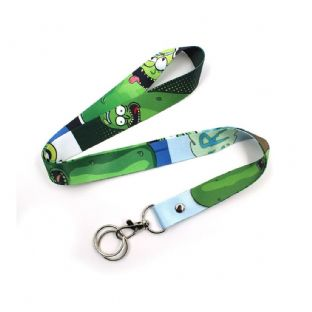 Rick & Morty Lanyard